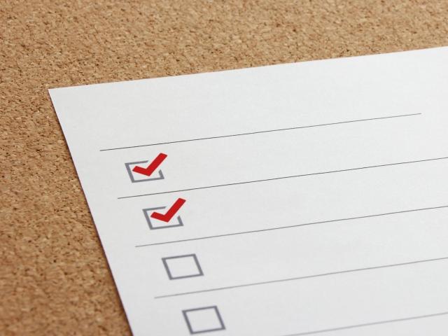 国民健康保険に必要なもののチェックリスト